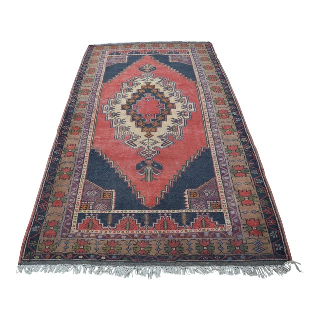 Turkish Anatolian Rug - 4′7″ × 8′7″ - Image 1 of 6