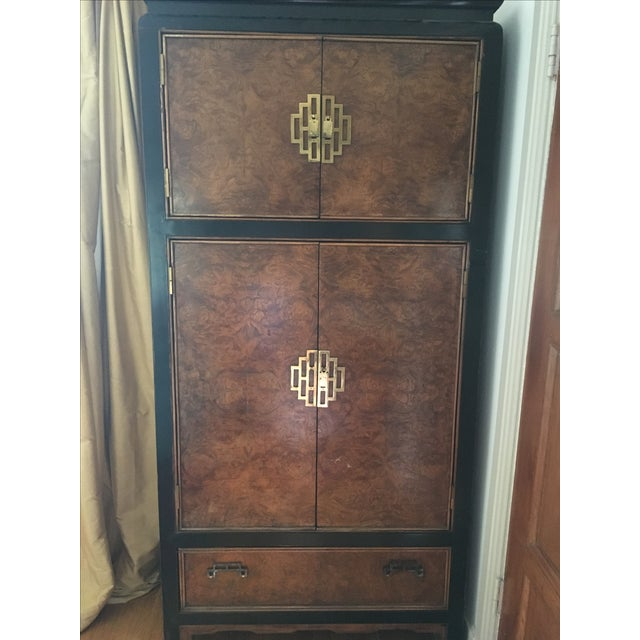 Century Furniture Ming Style Burl Airmoire - Image 9 of 9
