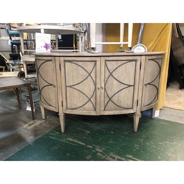 2010s Traditional Marquesa Oak Sideboard For Sale - Image 5 of 5