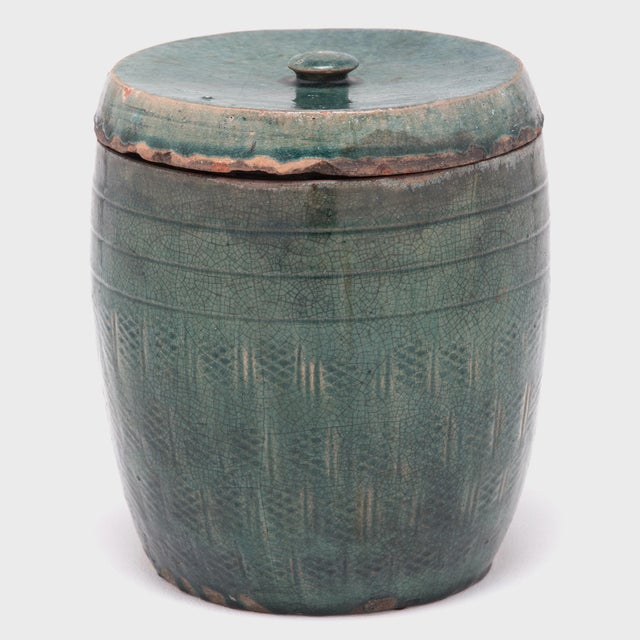 Over a century ago the walls of an apothecary shop in Northern China were lined with this and other earthenware jars,...