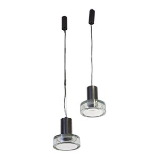 Seguso Ceiling Lights - A Pair For Sale