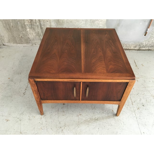 Vintage Mid-Century Modern Lane End Table Cabinet - Image 5 of 9