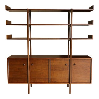 Mid Century Milo Baughman for Glenn of California Wall Unit For Sale