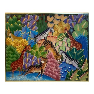 """Peaceable Jungle"" by Fritzner Lamour For Sale"