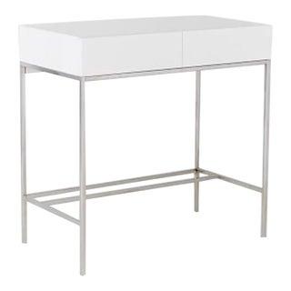 West Elm Lacquer Storage Mini Desk For Sale