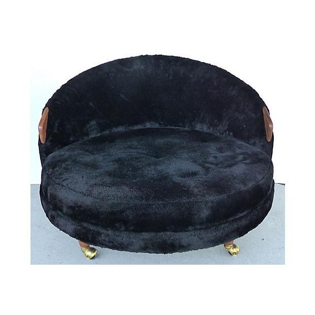 Adrian Pearsall Craft Associates Havana Chair - Image 3 of 9