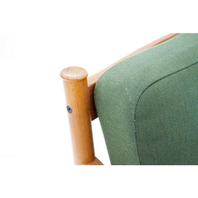 Danish Modern Peter Hvidt & Orla Molgaard Nielsen Teak Lounge Chair, Denmark 1961 For Sale - Image 3 of 6