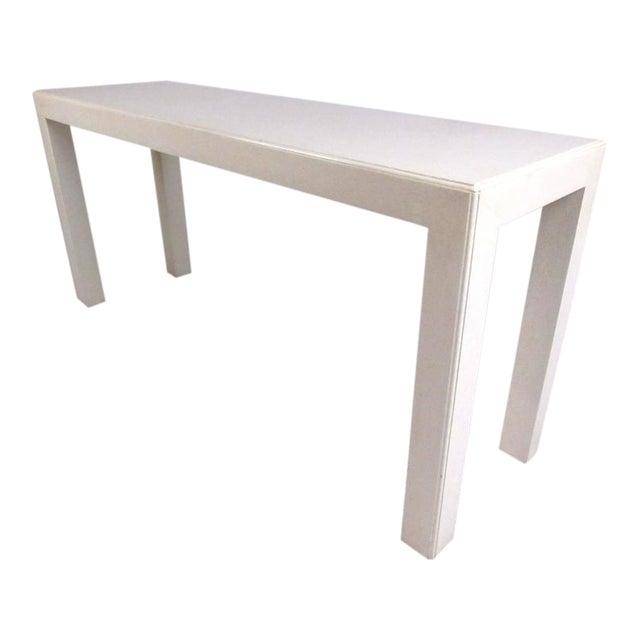 Mid-Century Modern John Widdicomb Console Table For Sale