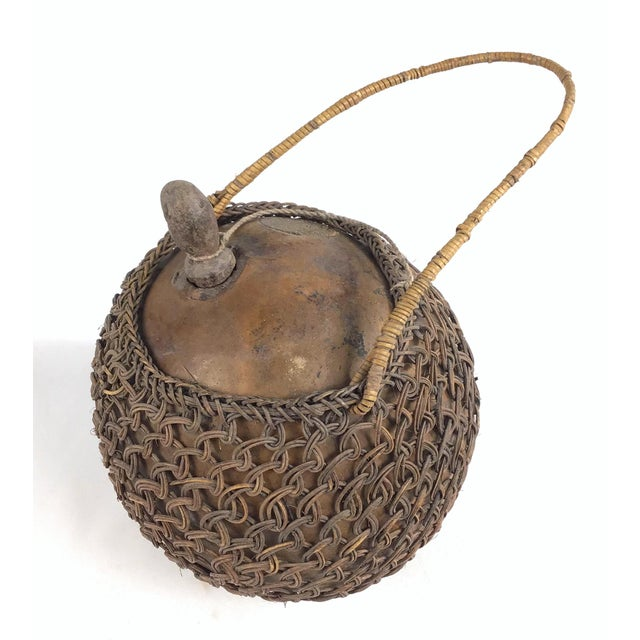 This hand made very ancient container is in near perfect condition which makes it quite rare. I have never seen such an...