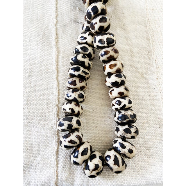1980s African Jumbo Bone Trading Beads For Sale - Image 5 of 10