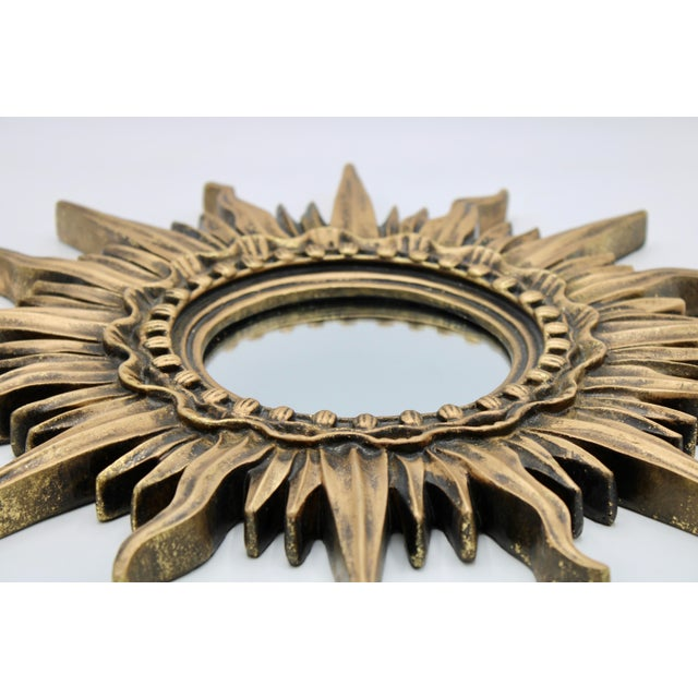 Antique French Sunburst Mirror For Sale - Image 12 of 13