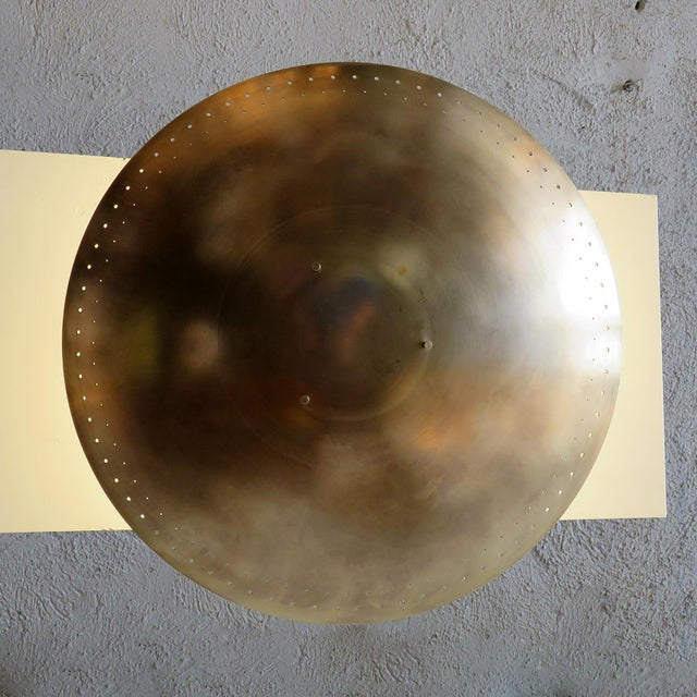 "Not Yet Made - Made To Order Gallery L7 ""Utah"" Ceiling Flush Mount For Sale - Image 5 of 11"