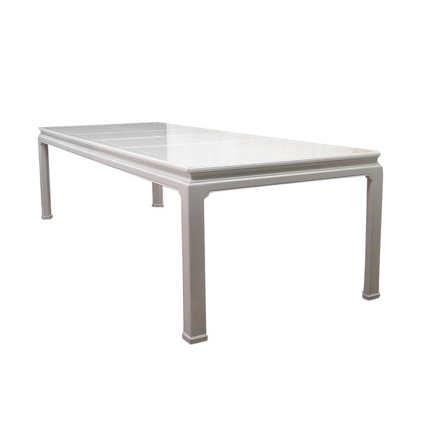 1960s Ming Henredon Dining Table For Sale