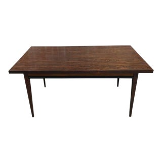 Rare Mid-Century Modern Danish Design Dining Table For Sale