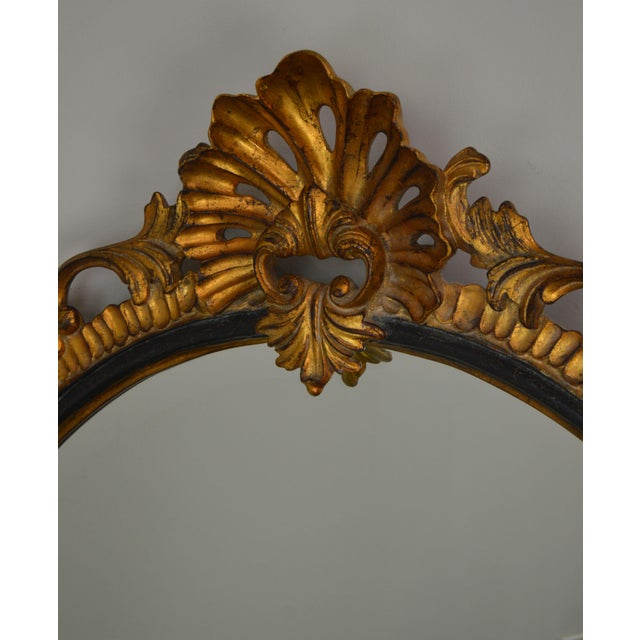 Dauphine Harrison & Gil Gold Gilt Wood Rococo Carved Wall Mirror For Sale - Image 9 of 13
