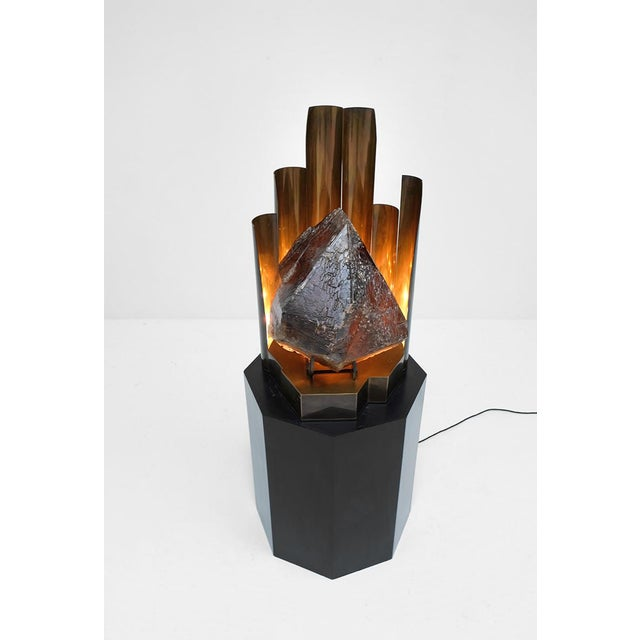 CHRISTIAN KREKELS QUARTZ PROTOTYPE LAMP - Image 6 of 11