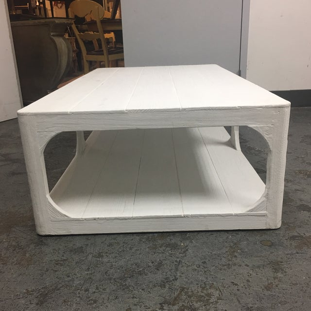 Dovetail White Shabby Chic Coffee Table - Image 6 of 9