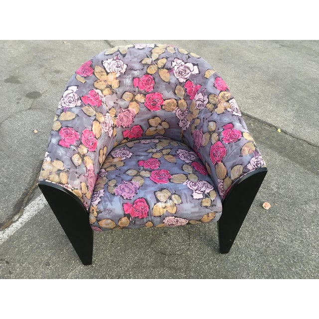 1990s 1990s Vintage Dakota Jackson Post Modern Club Chairs- A Pair For Sale - Image 5 of 10