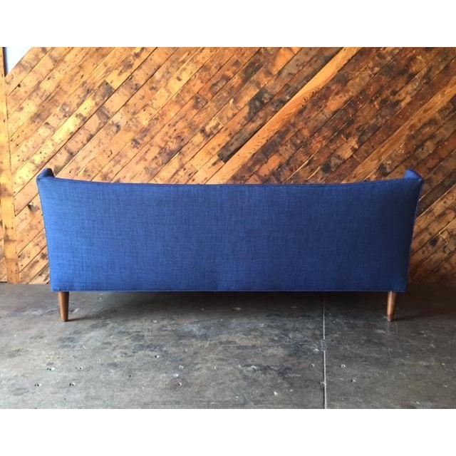 Mid-Century Style Custom Sofa - Image 7 of 9