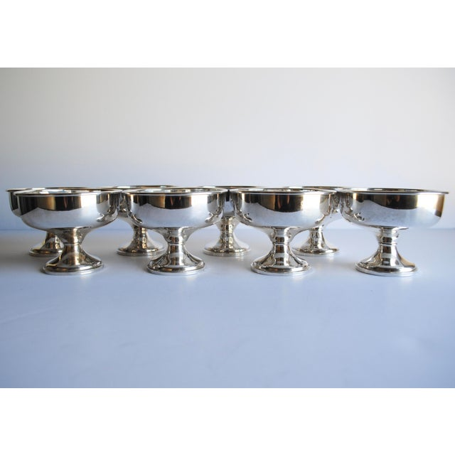 Sterling Silver Dessert Cups - Set of 8 For Sale - Image 4 of 4