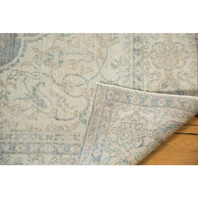 "Vintage Distressed Oushak Carpet - 6'6"" X 9'7"" For Sale - Image 12 of 13"