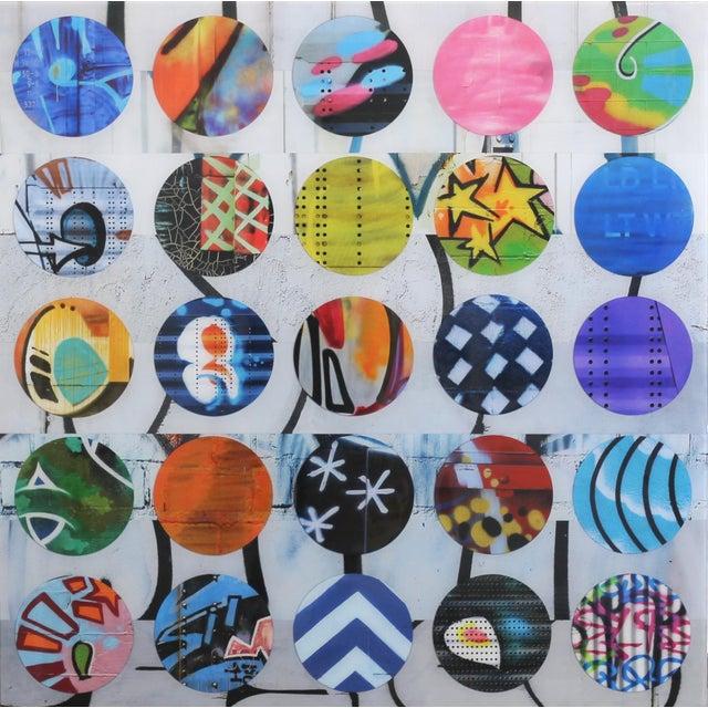 """Twister #17"" Original Artwork by Nicola Katsikis For Sale"