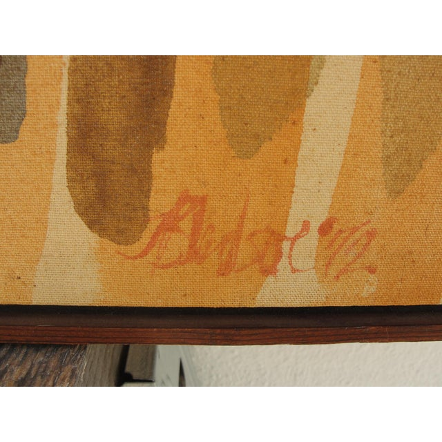 1972 Vintage John Bledsoe Washington School of Color Painting For Sale In Tampa - Image 6 of 11