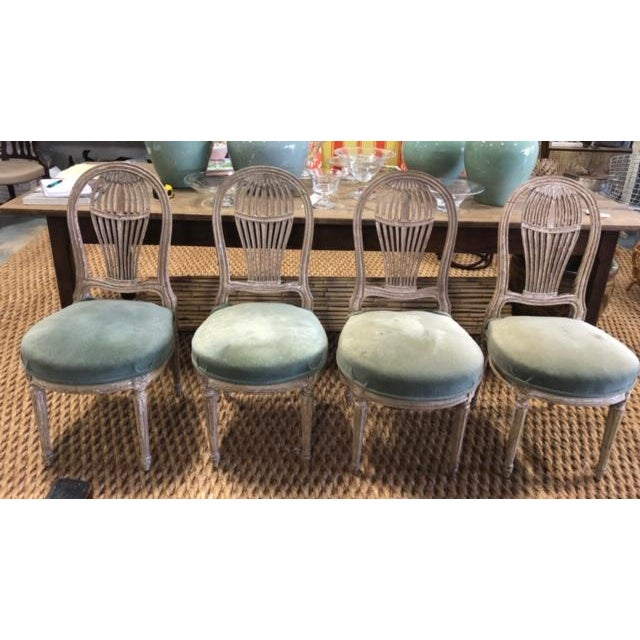 Early 20th Century Antique French Maison Jensen Balloon Chairs- Set of 4 For Sale - Image 11 of 11