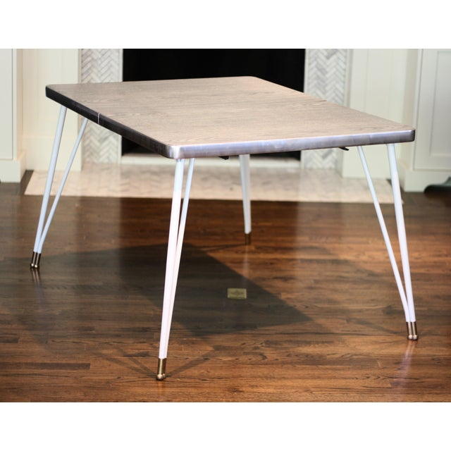 Mid Century Formica Dinette Table - Image 2 of 4