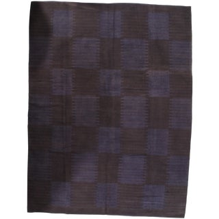 "Pasargad N Y Scandinavian Design New Zealand Overdyed Wool Rug - 7′4″ × 10′1"" For Sale"