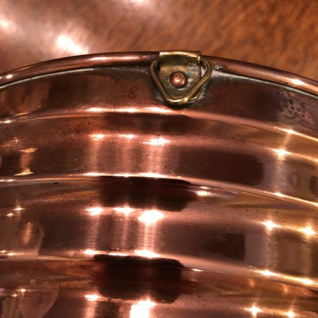 Vintage 1940s Copper Mold For Sale - Image 4 of 7