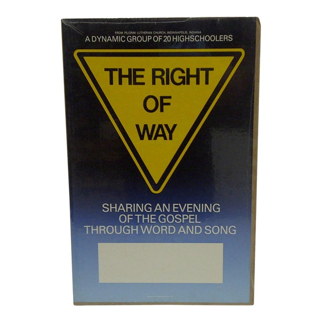 C. 1980 The Right of Way Gospel Lutheran Church Poster For Sale
