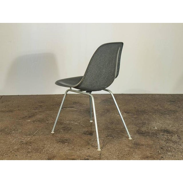 Herman Miller Charles and Ray Eames for Herman Miller Gray Shell Chair For Sale - Image 4 of 7