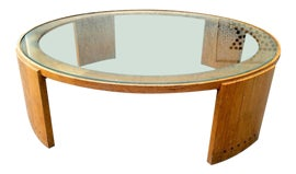 Image of Jacques Adnet Coffee Tables