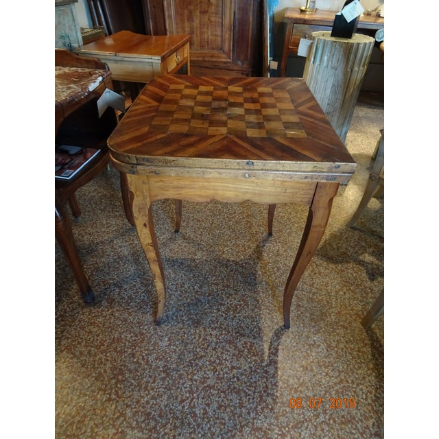 18th Century 18th Century French Game Table For Sale - Image 5 of 9