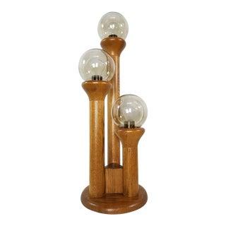 Vintage Mid Century Modern 1970's Modeline Cactus Table Lamp For Sale