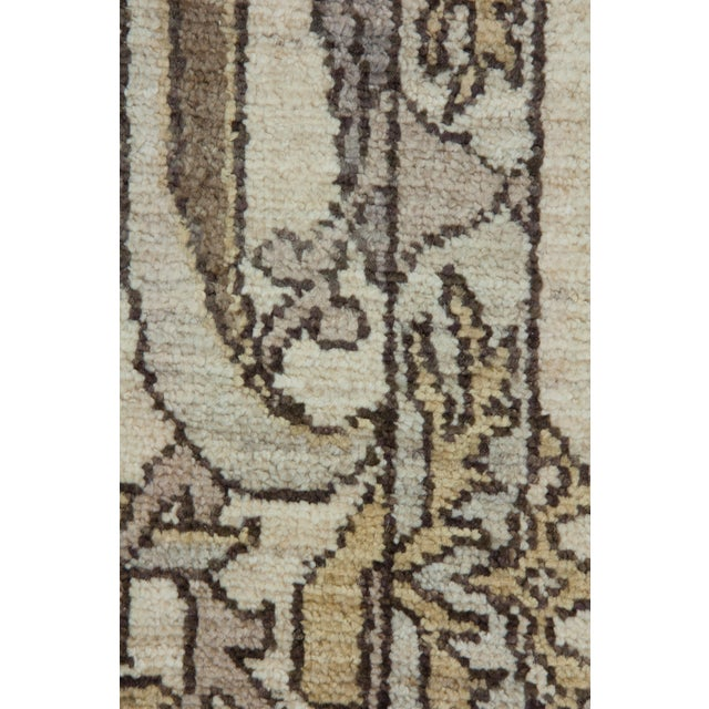 "New Oushak Hand Knotted Area Rug - 6'2"" x 8'6"" - Image 3 of 3"