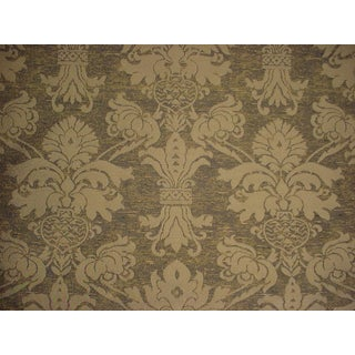 Kravet Couture Scarlatti Eucalyptus French Floral Upholstery Fabric- 2 5/8 Yards For Sale