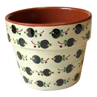 1970s Vintage Ceramic Planter For Sale