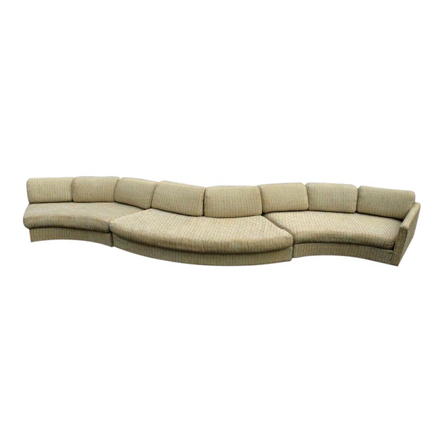 Milo Baughman Craft Associates Sectional Sofa - Image 1 of 10
