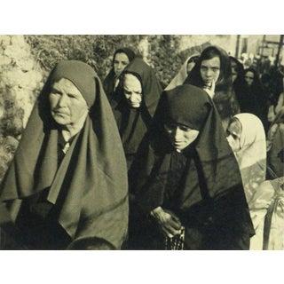 "Joseph Consavela ""Provence Procession"" Silver Gelatin Photograph For Sale"