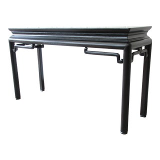 Baker Furniture Chinoiserie Console Table by Michael Taylor