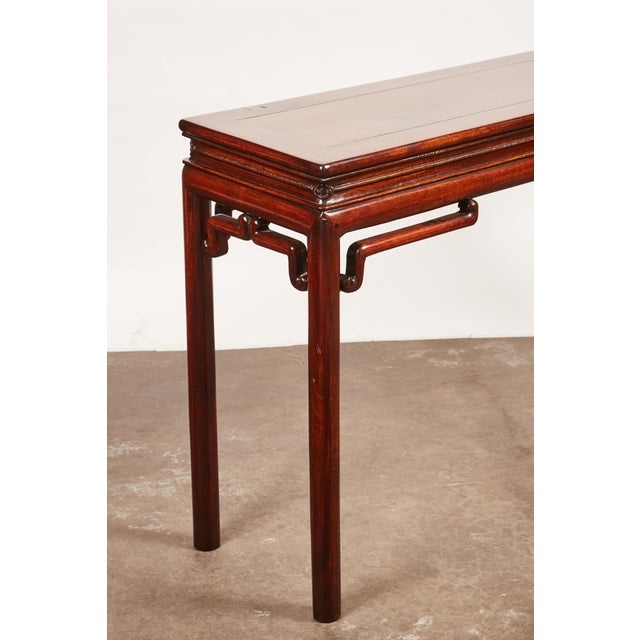 Wood Chinese Rosewood Altar Table For Sale - Image 7 of 8