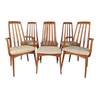Danish Modern Teak Dining Chairs by Svegards Markaryd - Set of 6 For Sale