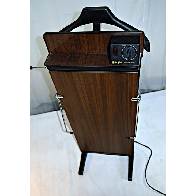 "Vintage Trouser Press By John Corby Of Windsor Type ABO. Made in England specially for ""Neiman Marcus"". Self standing..."