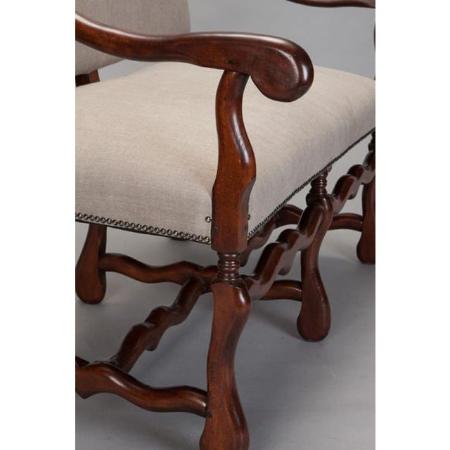 French Os De Mouton Settee For Sale - Image 3 of 7