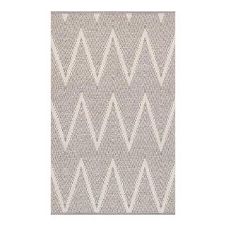 "Pasargad Simplicity Hand-Woven Cotton Rug - 4' 0"" X 6' 0"""