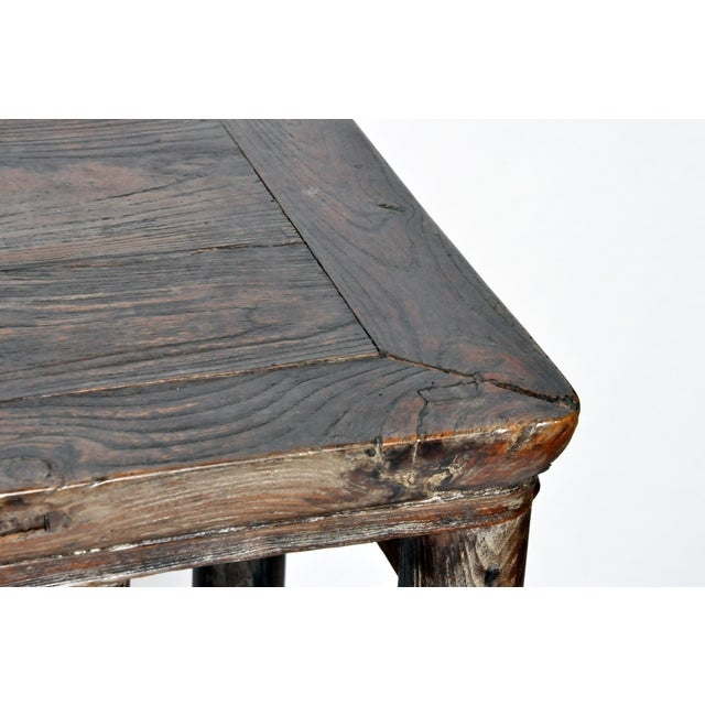 Qing Dynasty Altar Table with Rounded Legs and Original Lacquer - Image 6 of 11