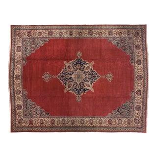 "Vintage Oushak Carpet - 15'2"" X 19'6"" For Sale"
