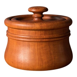 Danish Modern Nissen Teak Ice Bucket For Sale